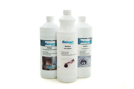 A range of BioSmart products